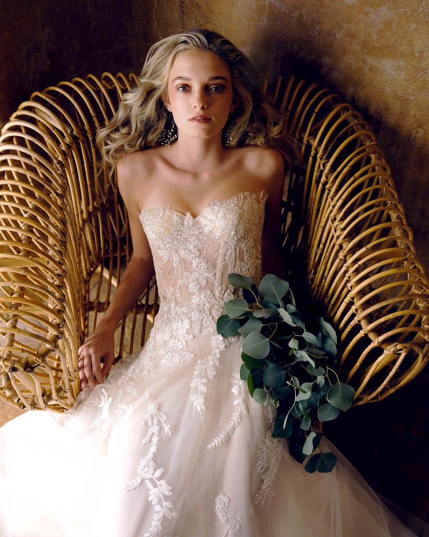 Serafina Wedding Gown by Ellen Wise Couture