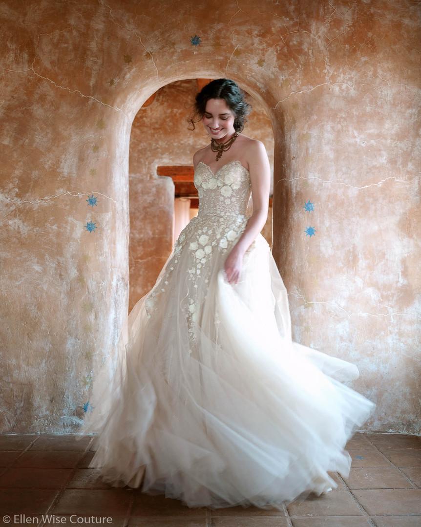 Allesandra Wedding Gown by Ellen Wise Couture