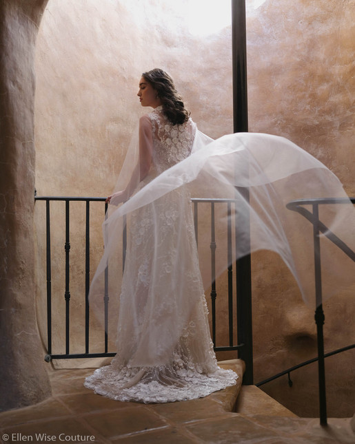 Arabella Wedding Gown by Ellen Wise Couture