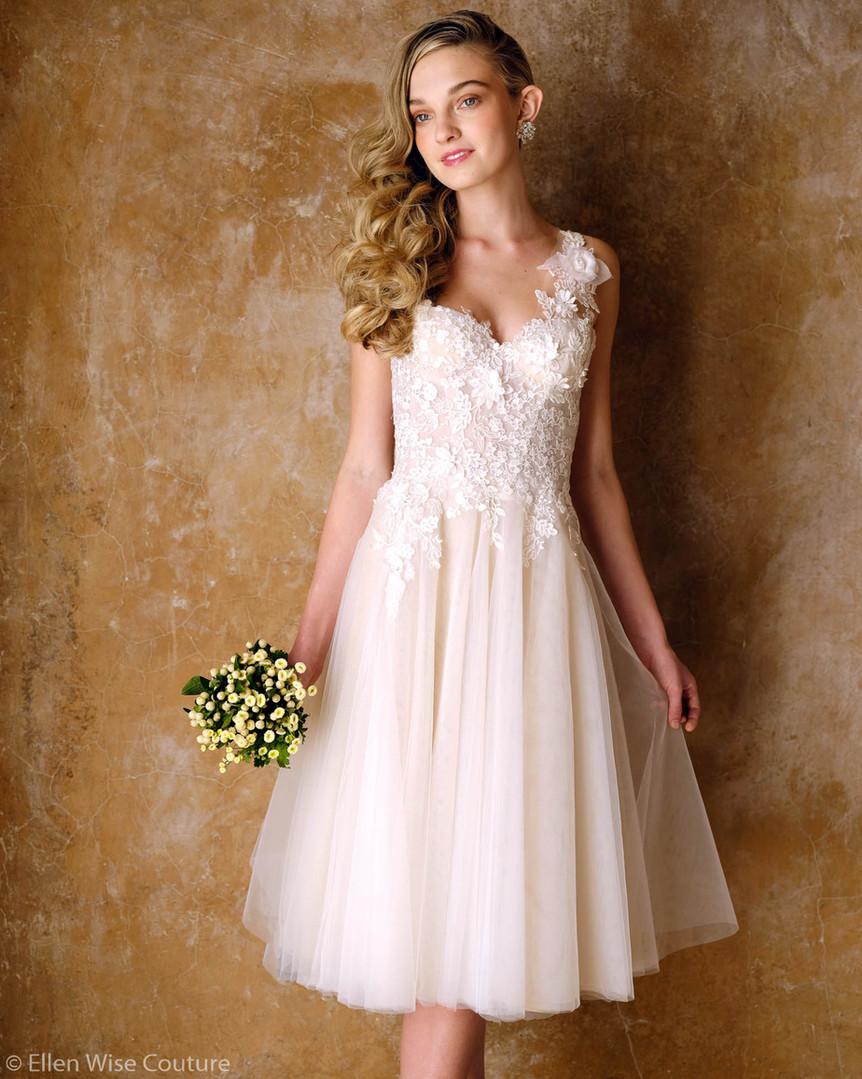 Emmaline Wedding Gown by Ellen Wise Couture