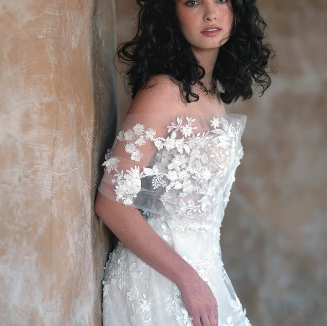 Briar Wedding Dress by Ellen Wise Coutur