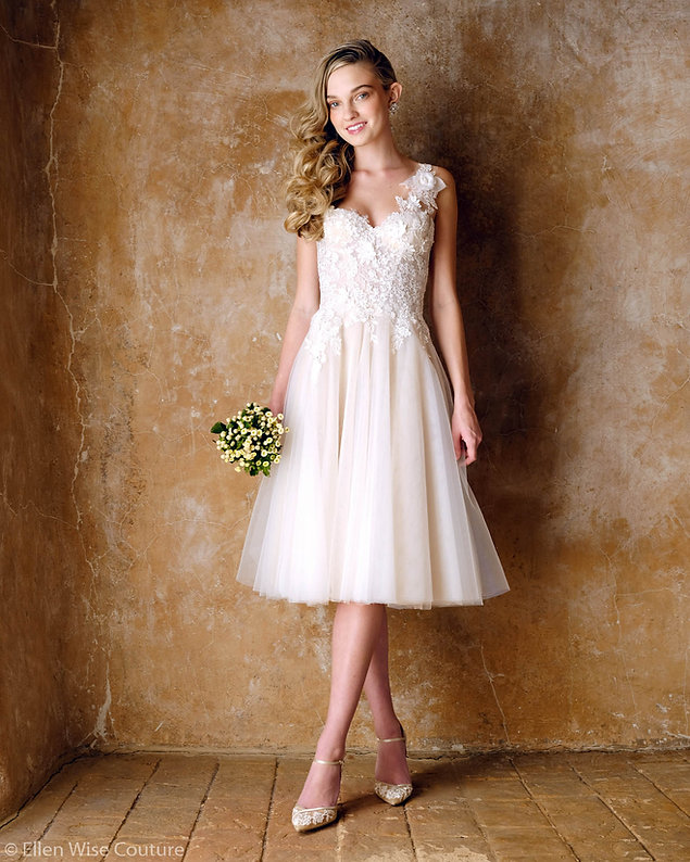 Emmaline Wedding Dress by Ellen Wise Cou