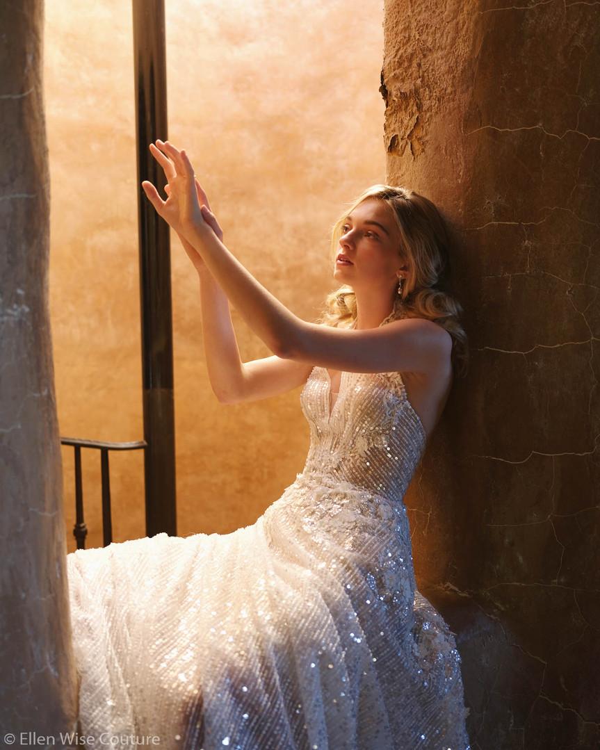 Perla Wedding Gown by Ellen Wise Couture