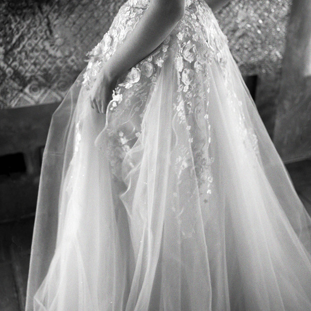 Allesandra Wedding Gown by Ellen Wise Couture