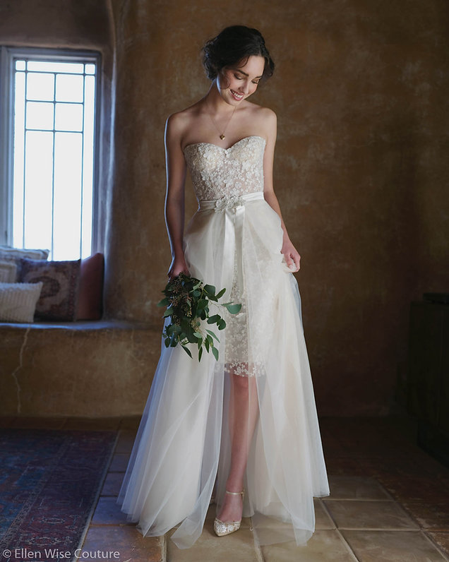 Audrey Wedding Dress by Ellen Wise Coutu