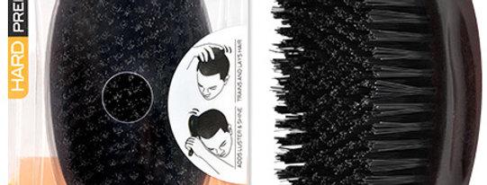 Magic Wave Curved Palm Brush Premium Boar  (HARD)