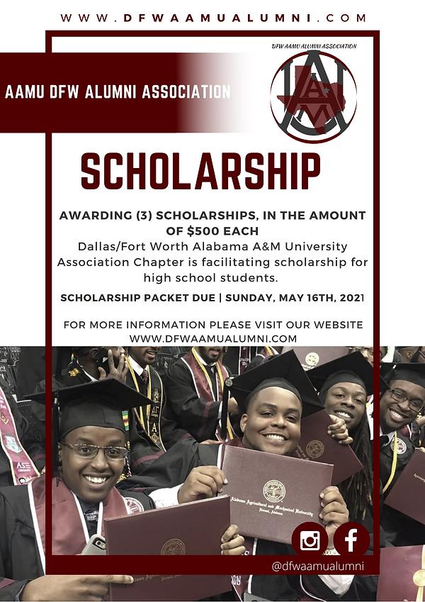 AAMU DFW Alumni  Scholarship flyer (4).p