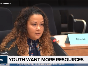 Youth want more resources