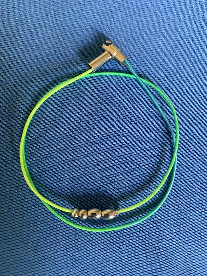 neongrünes Armband