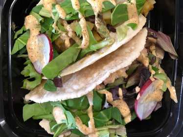 Grain free tacos with pasture chicken
