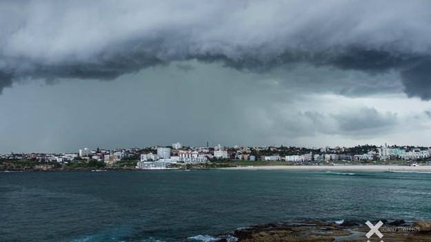 Spring storm in Bondi