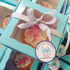 Boxed Strawberry Cupcakes