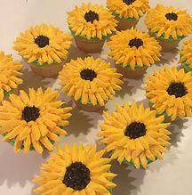 Black Eyed Susan Cupcakes