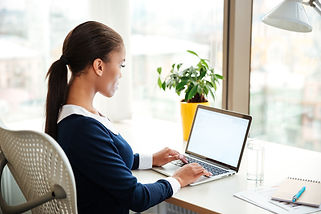 Women Laptop Working shutterstock_535817