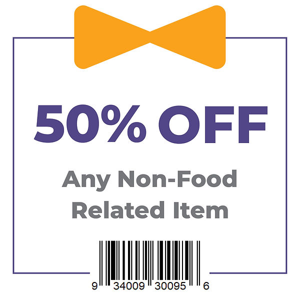 Coupon - 50% Off Any Non-Food Related It