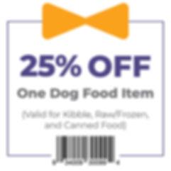 Geo 25% Off Dog Food coupon.jpg