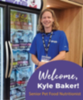 Kyle Baker_DOGPerfect_Senior Nutritionis
