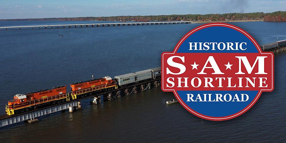 SAM Shortline Railroad Excursion