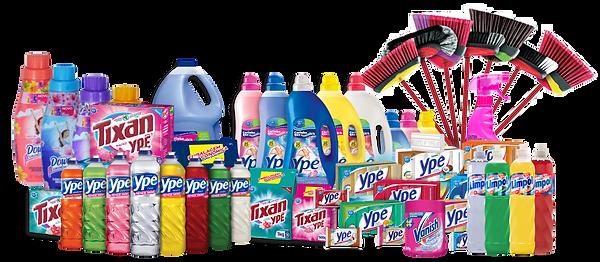 Uma linha completa de produtos de Limpeza e Acessórios para o seu Lar!