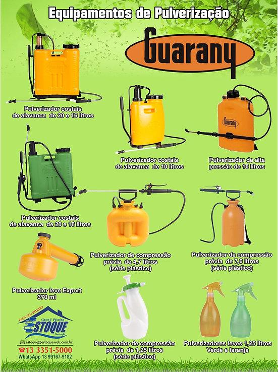 Pulverizadores Guarany