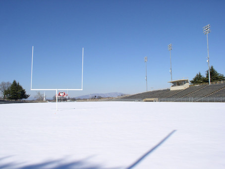Football Practice Without a Field?