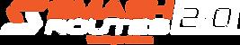 Smash Routes 20 Logo (Orange & White + T