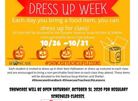 Showcase Sunday - Halloween Events