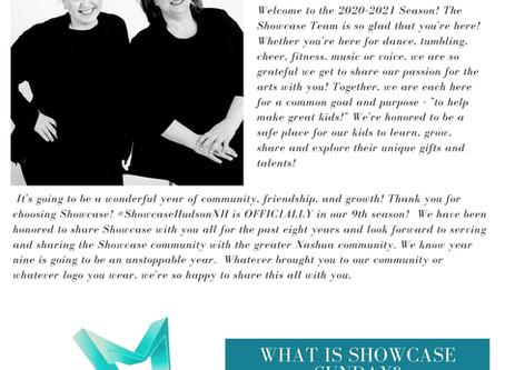 Showcase Sunday - Weekly Community News