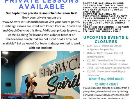 9/18/21 - Community News & Events