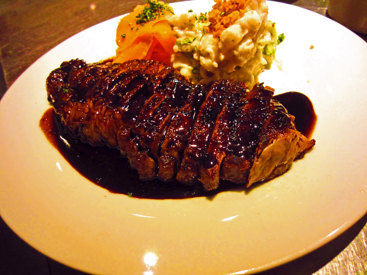 ガーリック牛サーロインステーキ