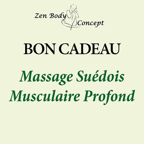 Massage Suédois Musculaire Profond