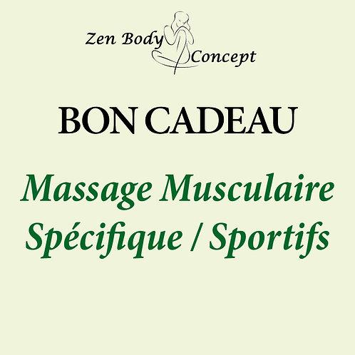 Massage musculaire spécifique / Sportifs