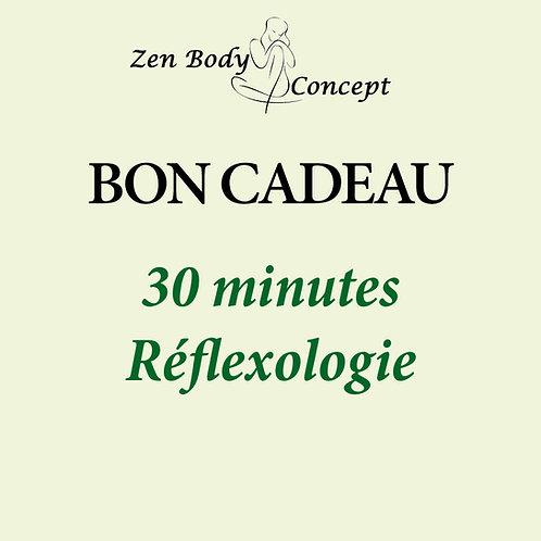 30 minutes Réflexologie plantaire