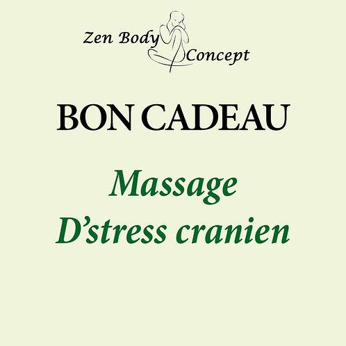 Massage D'stress crânien