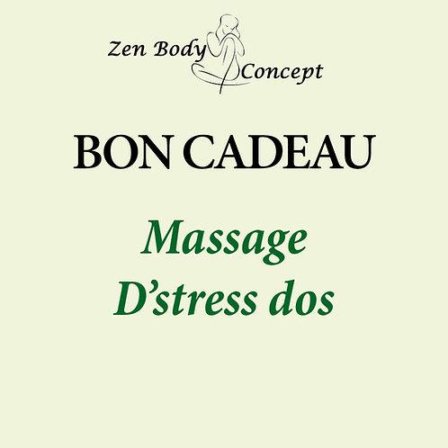 Massage «spécial D-Stress»