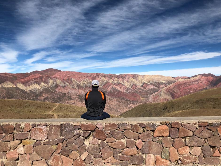 """La Inspiración de la Montaña de 14 Colores"", The Inspiration of the Mountain of 14 Colors"