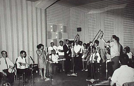 הקלטה באולפני אשל - 1970