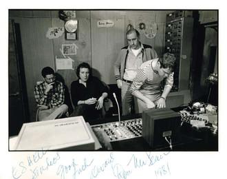 דון מקלין באולפני אשל - 1981