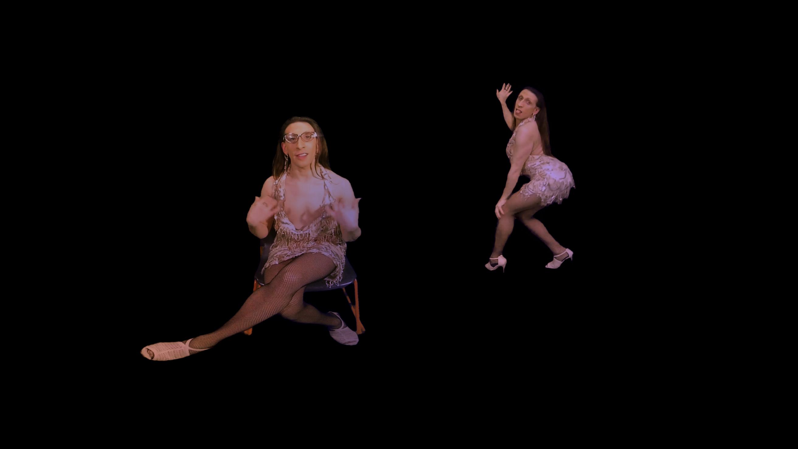 Diva Miyake-Mugler Dancing in Gimme One.