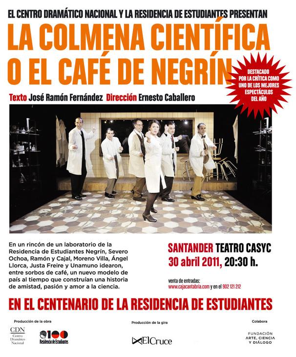 LA COLMENA CIENTÍFICA O EL CAFÉ DE NEGRÍN.