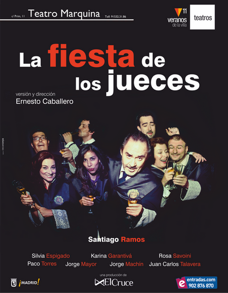 LA FIESTA DE LOS JUECES