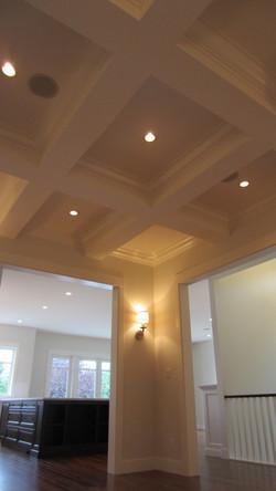 craftsman dining room ceiling