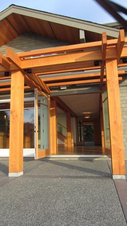 west coast entrance
