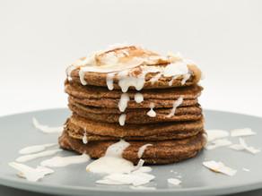Candida Friendly Cinnamon & Flax Pancakes