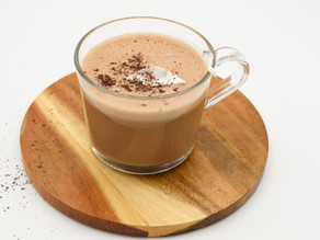 Candida Friendly Peppermint Hot Chocolate