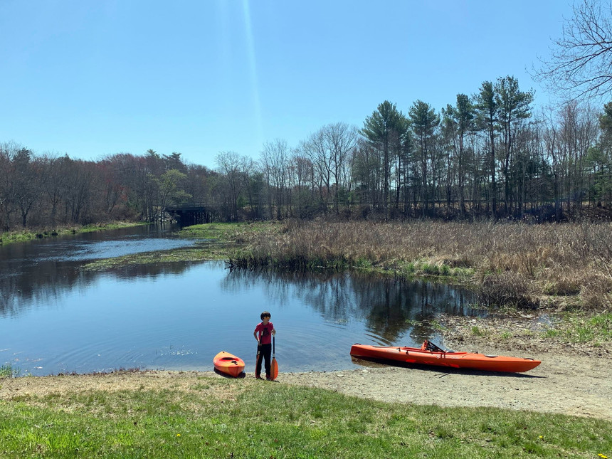 Camping and Upper Nemasket and Fall Brook