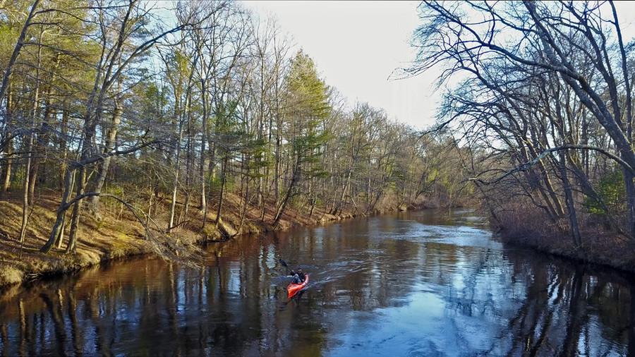 Nemasket River in February?!?