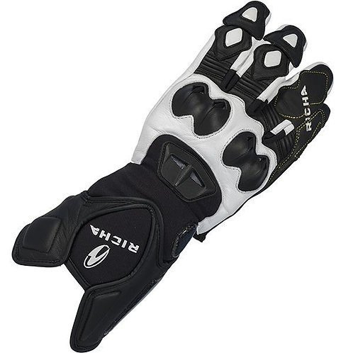 Richa Suzuka Glove Black and White