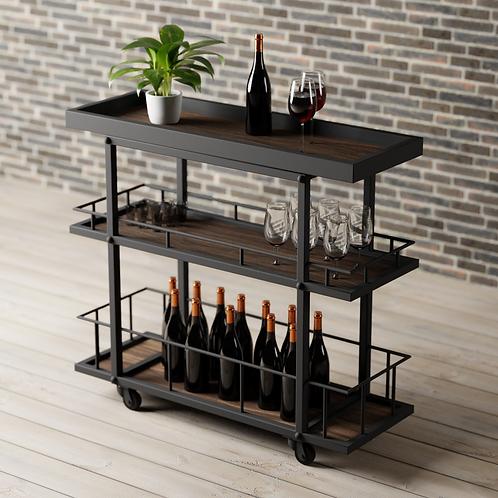 Carrito Bar Bitte (100x35)