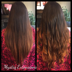mystiq extensions_airdrie hair extensions_hair extensions calgary (SV ombre)